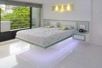 epoxy gulv i soveværelset